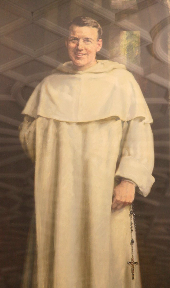 Bede  Jarret portrait from Blackfriars Oxford