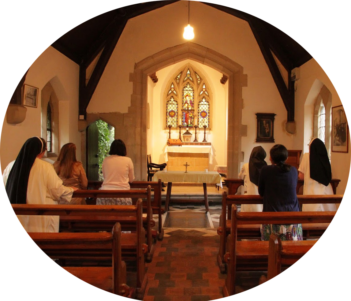 Visitors join Sisters in Prayer